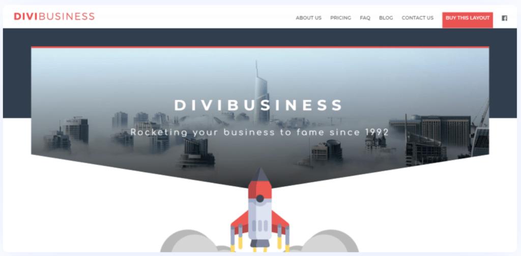 Divi Business Themes
